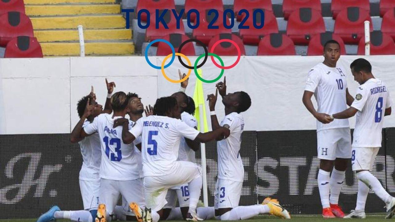 Honduras Sub-23 con grandes noticias previo a los Juegos Olímpicos de Tokio