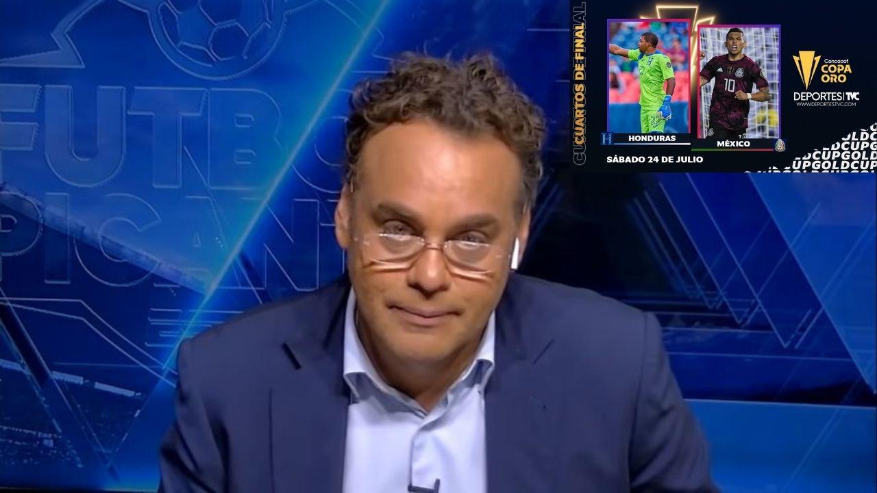 Faitelson reacciona al conocer que Honduras enfrentará a México en la Copa Oro
