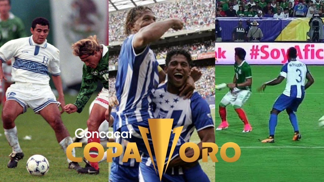 Así le ha ido a Honduras cuando enfrenta a México en la Copa Oro