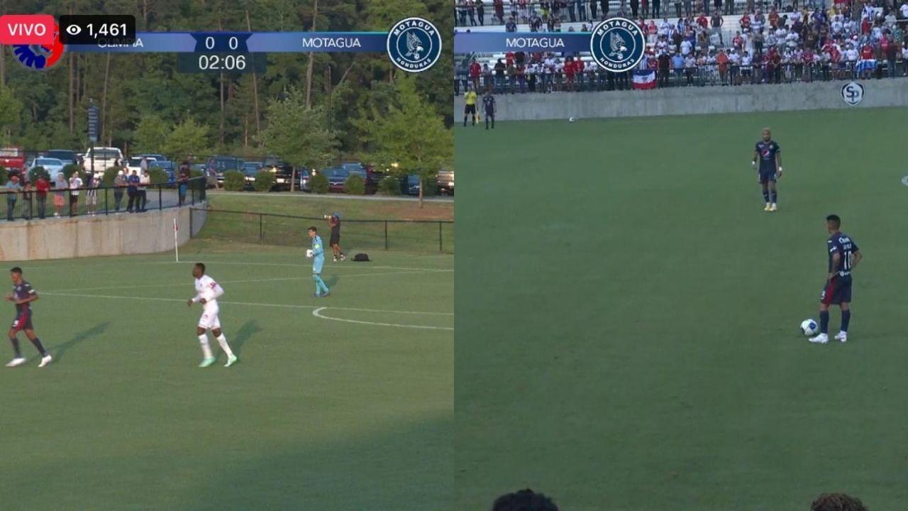 Olimpia y Motagua igualaron sin goles en un lleno total en Charlotte