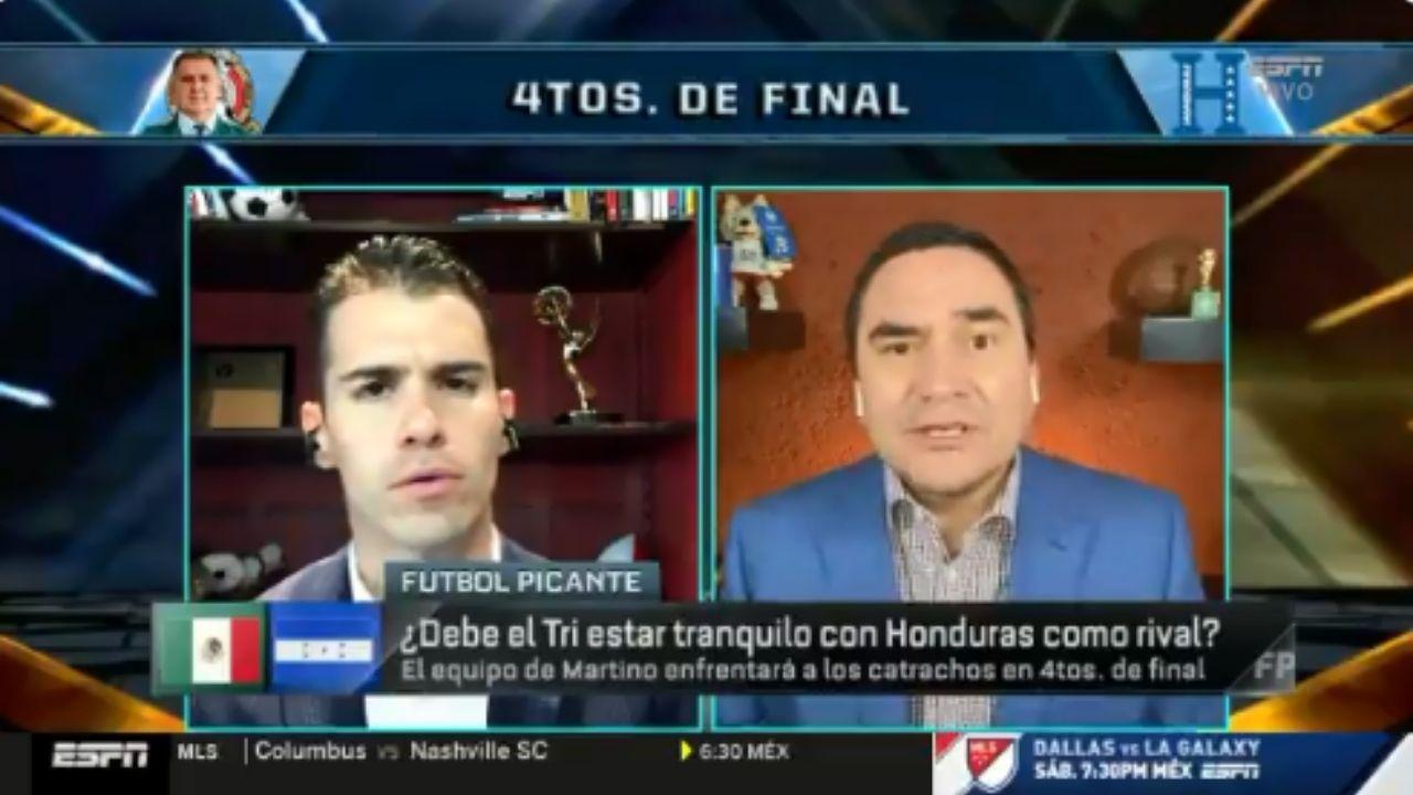Locutor mexicano asegura que perder contra Honduras sería un fracaso del tamaño 'del mundo'