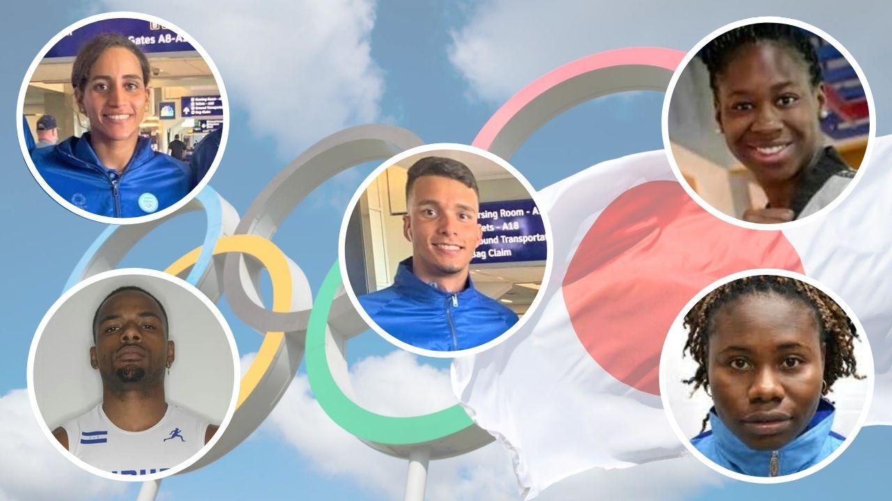 Uno a uno: conozca los 5 atletas hondureños invitados a los Juegos Olímpicos de Tokio
