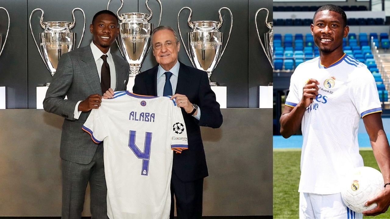 David Alaba hereda el '4' de Sergio Ramos: 'Ese número representa fortaleza y liderazgo, pero no me comparo con otros'