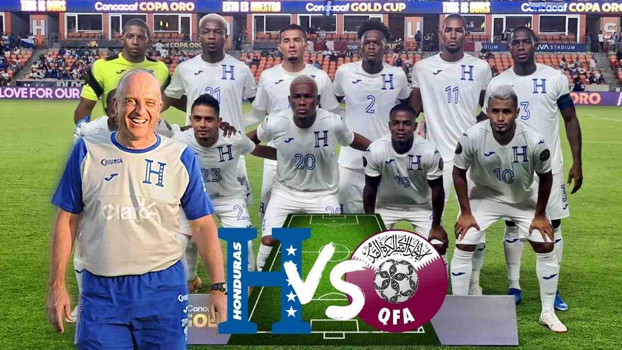 El posible once de Honduras vs Qatar, con sorpresas tras bajas de Elis y Quioto