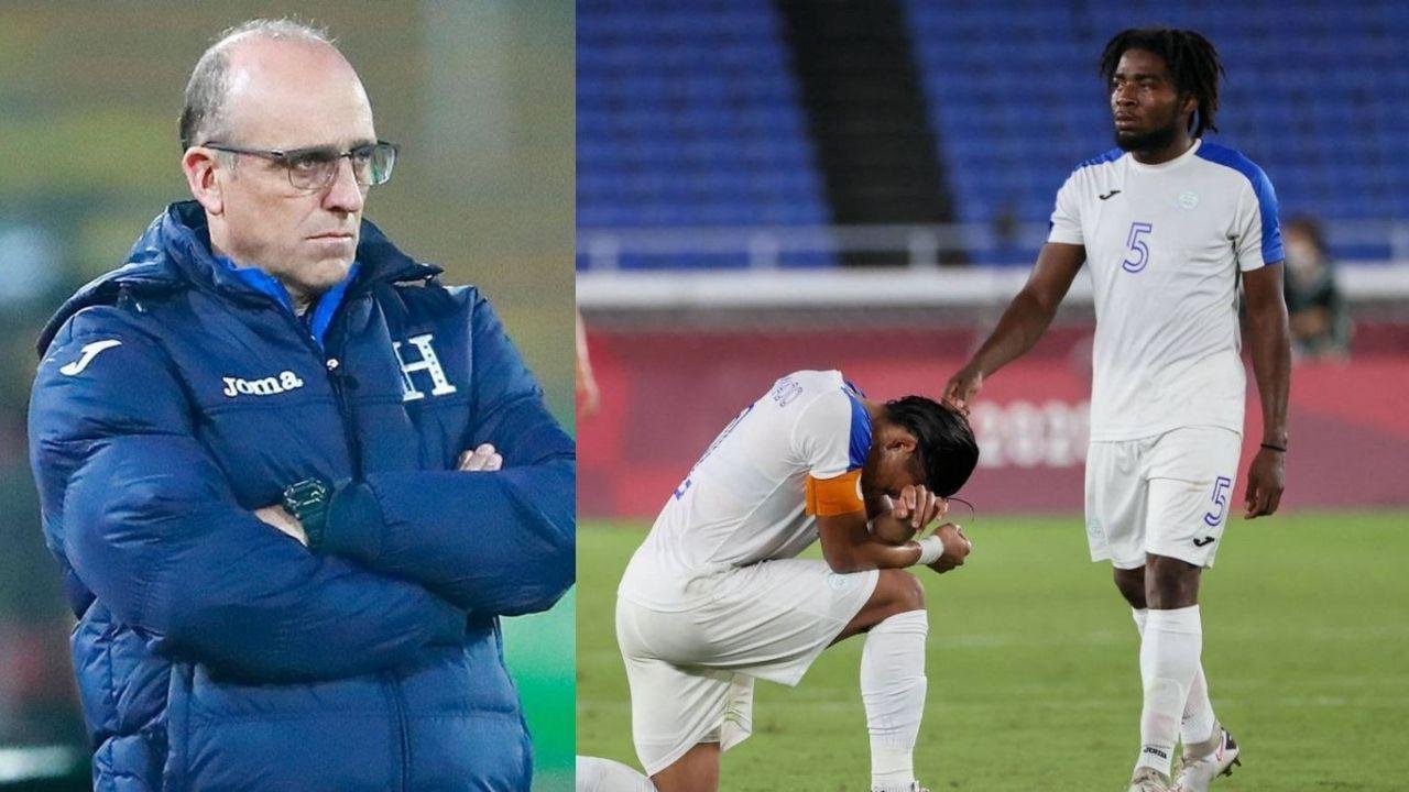Fabián Coito pide que no se crucifique a los jugadores de Honduras tras la eliminación en Tokio 2020