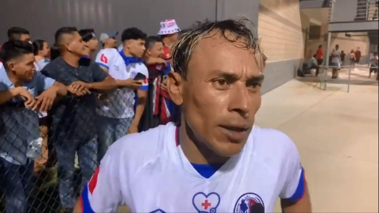 Javier Portillo provoca al  Motagua tras el empate: No sé cuánto tienen de no ganarnos