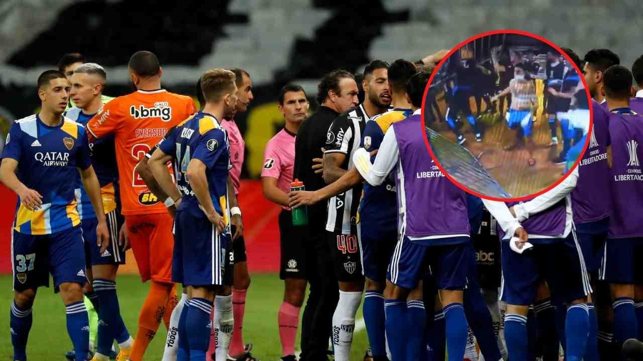 Escándalo en Brasil: Jugadores de Boca Juniors se pelean con policías