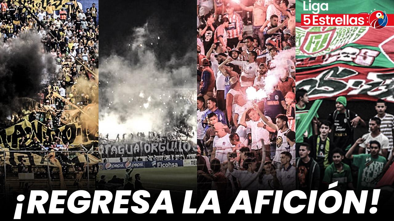 ¡Regresan los aficionados al estadio! Torneo Apertura de la Liga 5 Estrellas se jugará con público