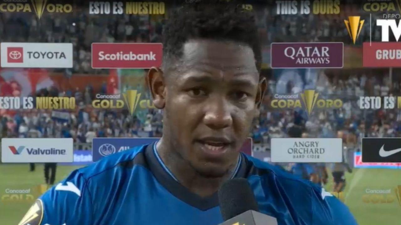 Copa Oro: Romell Quioto considera que este fue su mejor partido con Honduras