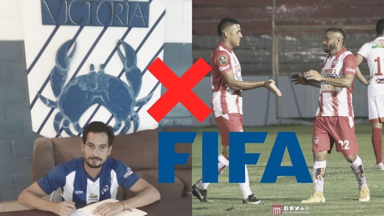 Victoria y Vida no podrán inscribir ni vender jugadores por orden de FIFA