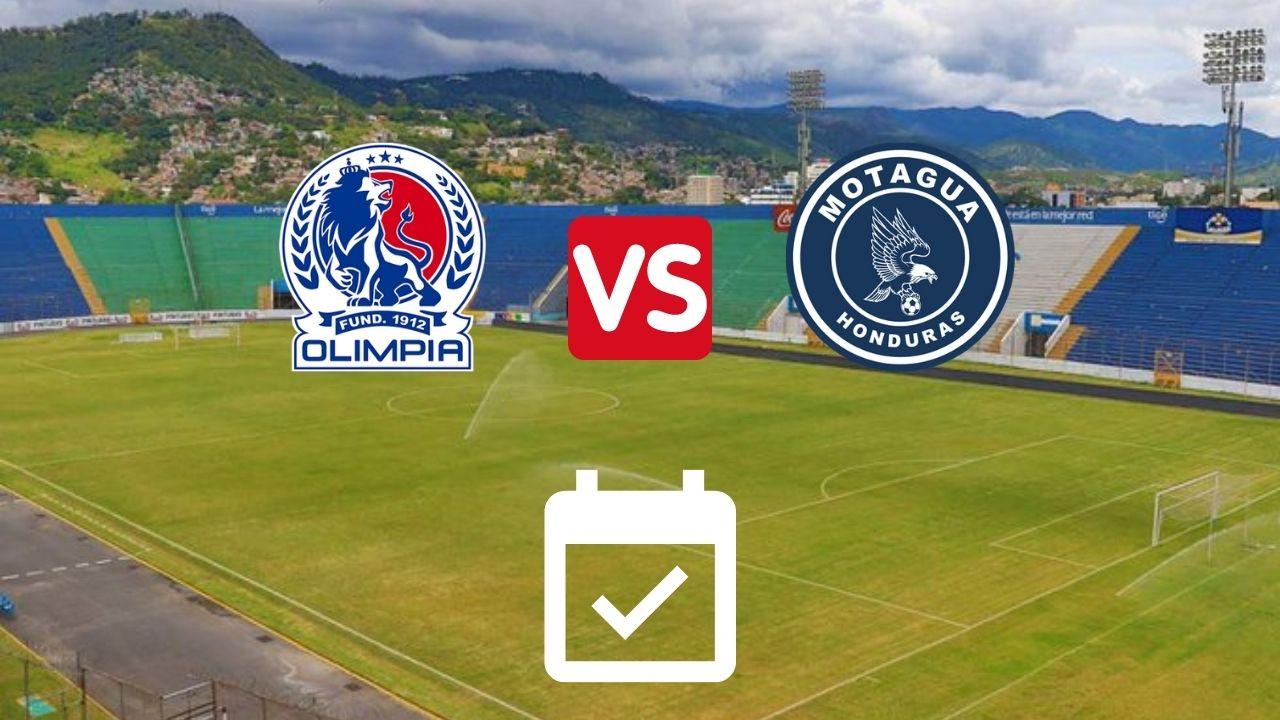 Los clásicos entre Olimpia y Motagua ya tienen hora y fecha para el Apertura 2021-22