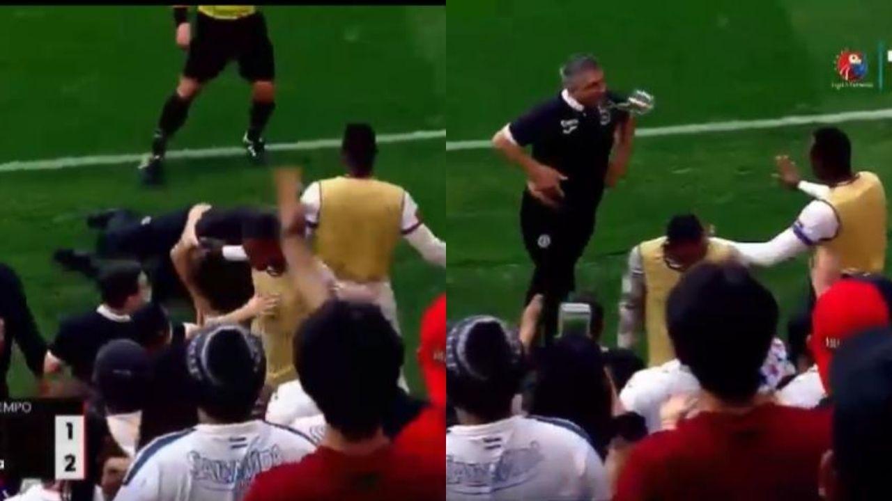 La penosa pelea entre los jugadores de Olimpia y Motagua que dejó expulsados