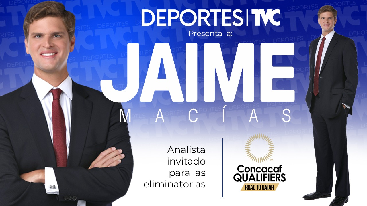 Jaime Macías, analista deportivo, se une a Deportes TVC en Toronto para el arranque de la eliminatoria rumbo a Qatar 2022