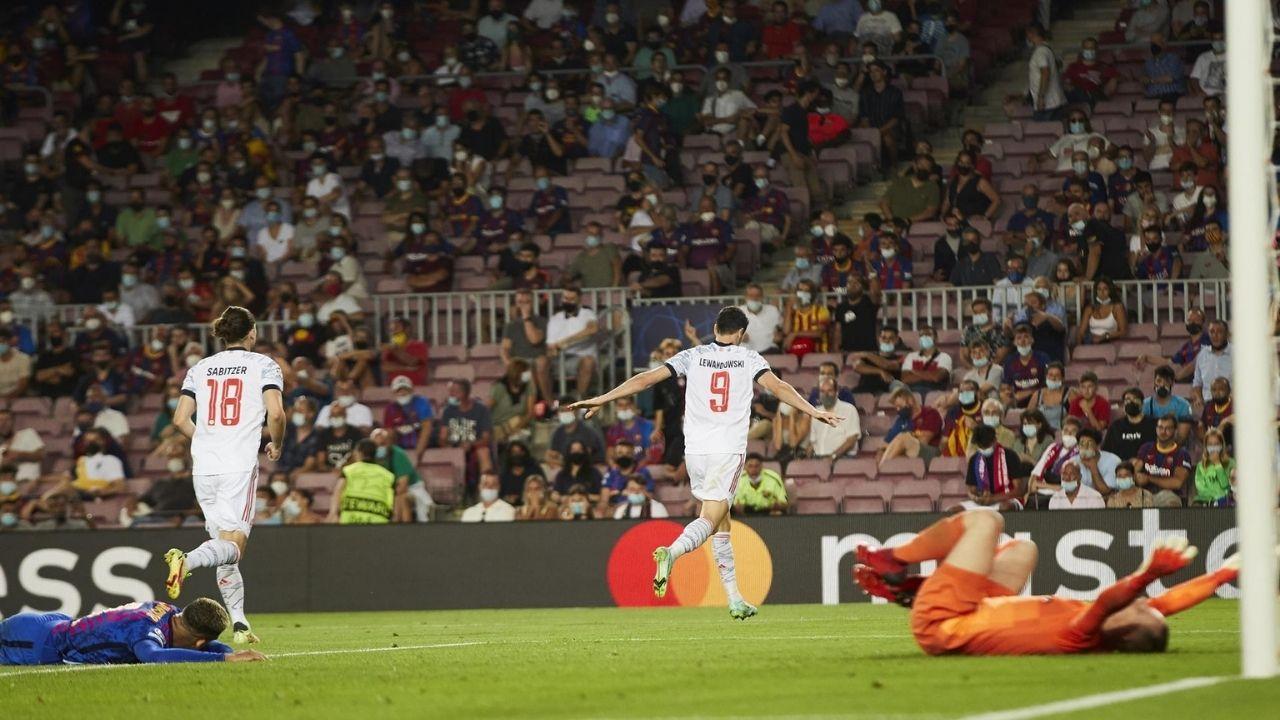El Bayern Múnich tuvo otro paseo por el Camp Nou y goleó al Barcelona