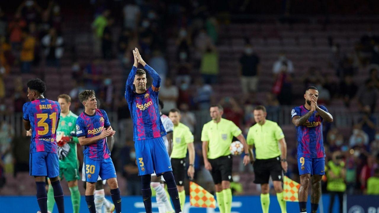 Piqué pide calma y asegura que el Barcelona competirá la presente temporada