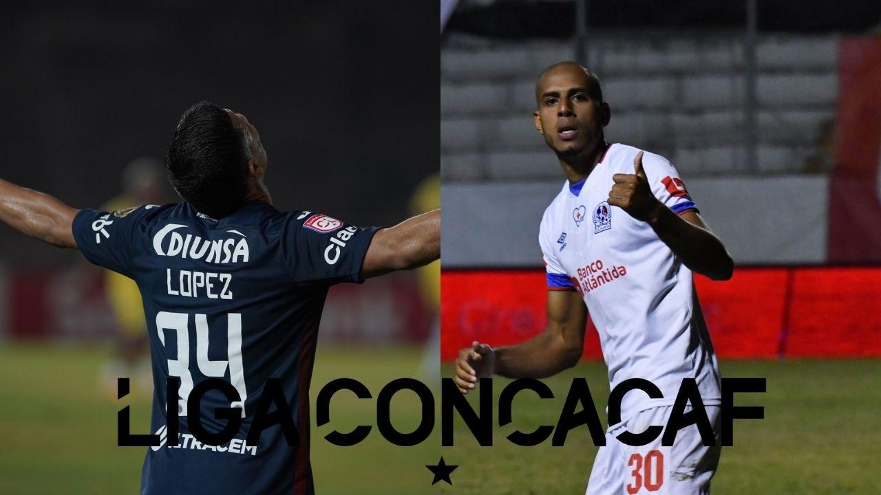 Liga Concacaf destaca a hondureños como figuras en la ida de los octavos de final