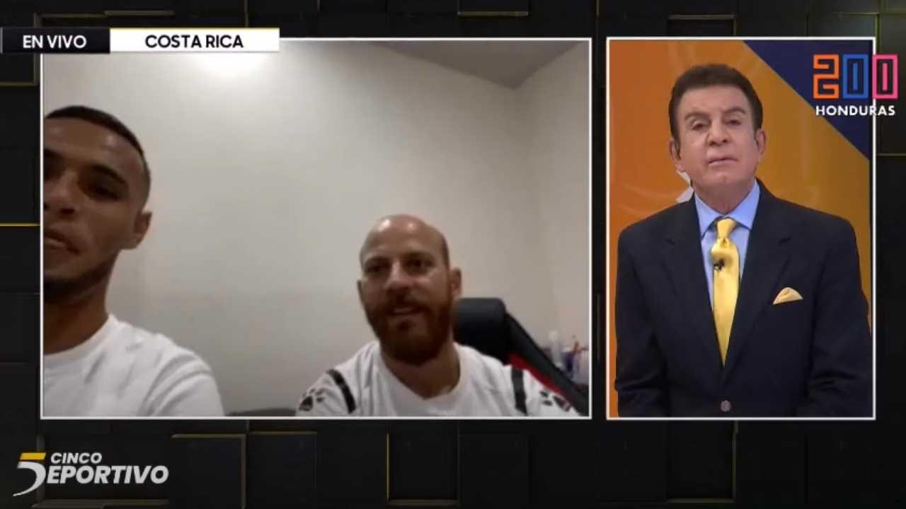 Alex López y el médico de Alajuelense aclaran el tema sobre su lesión