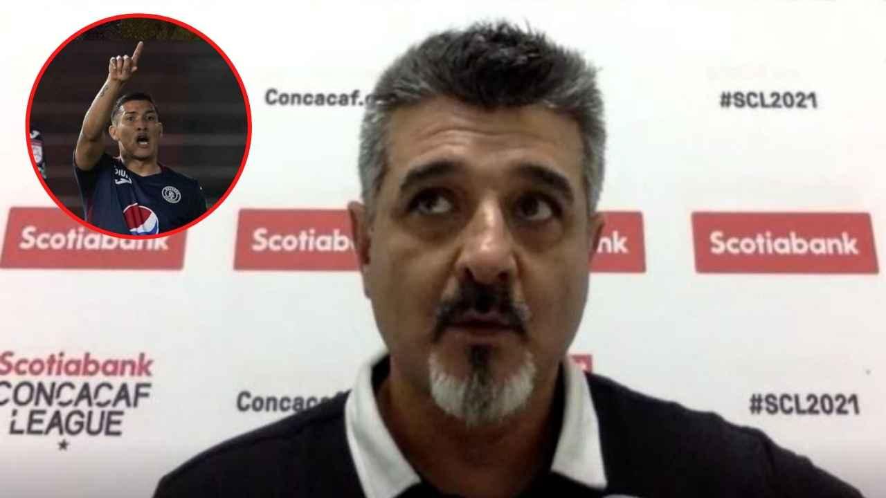 Diego Vázquez manda mensaje a Kevin López: 'Es el jugador que necesitamos'