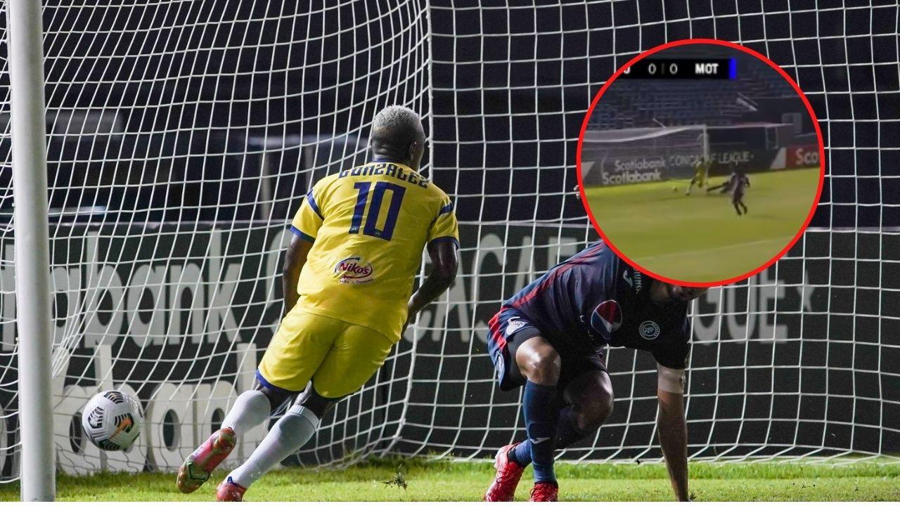 ¡Terrible error! Así fue la falla de Wesley Decas en el primer gol en contra de Motagua