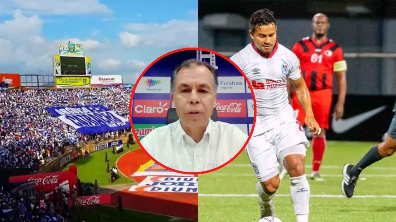 José Mejía lamenta trato para Olimpia y sobre el riesgo de la H de jugar sin público