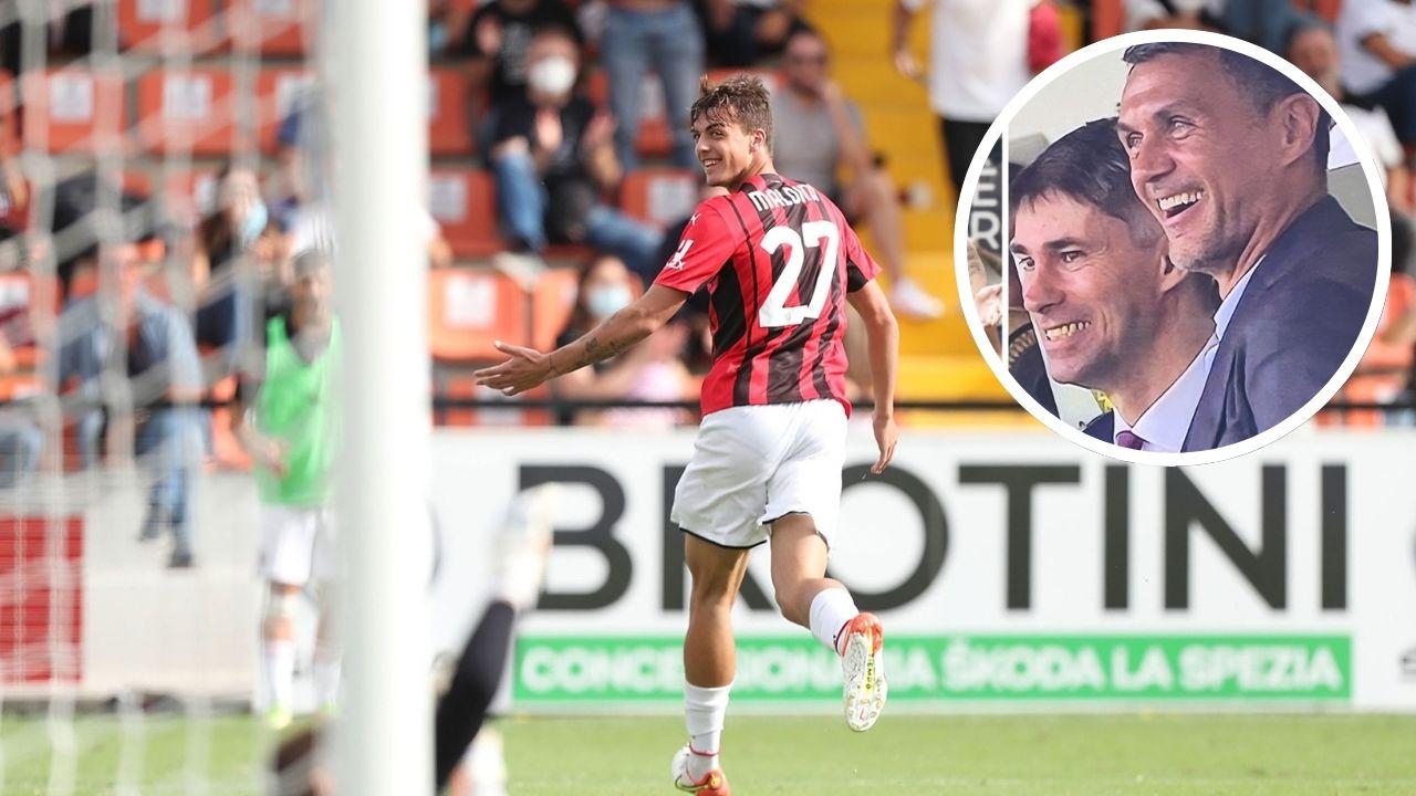 Tras 4,927 días, un Maldini vuelve a marcar en la Serie A