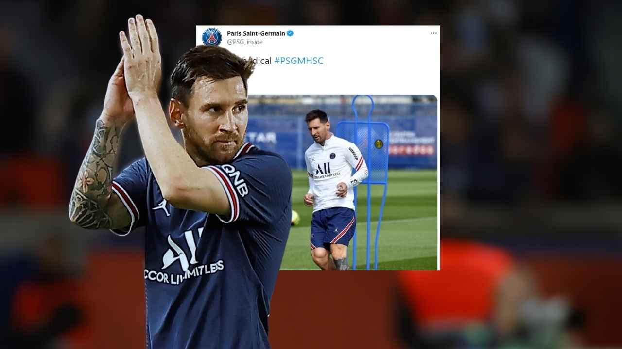 ¿Nueva lesión de Messi? Esto informa el parte médico del PSG