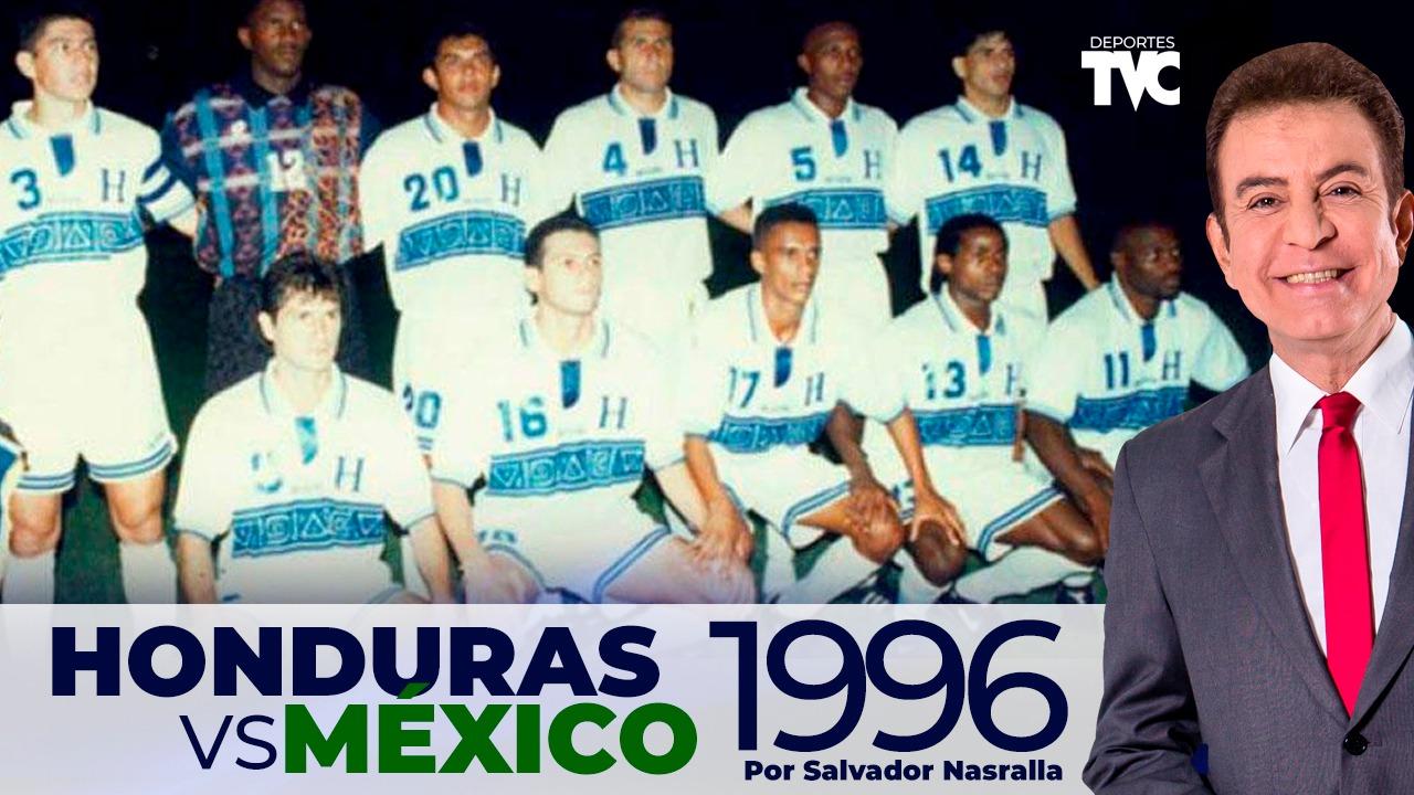 Salvador Nasralla recuerda el primer triunfo de la H sobre México en eliminatorias hace 25 años