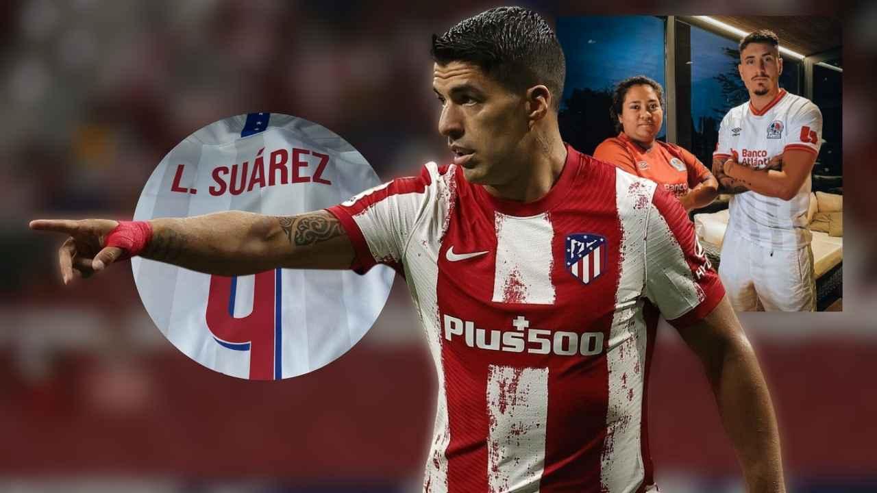 Olimpia prepara regalo para Luis Suárez del Atlético de Madrid