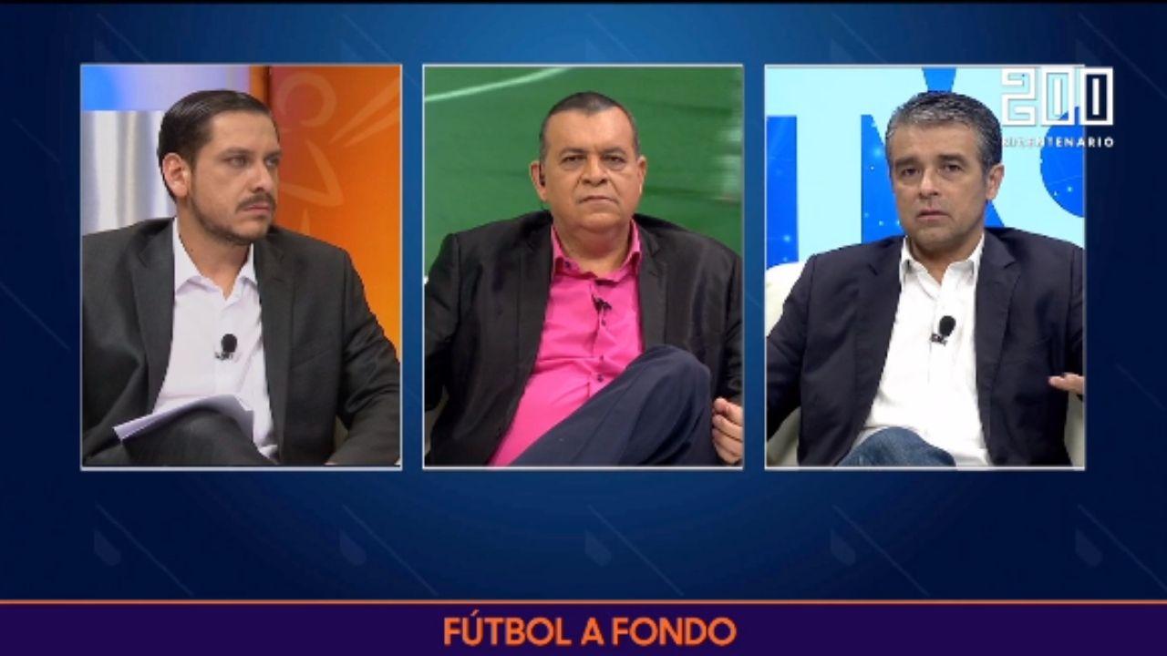 Jimmy Rodríguez en Fútbol a Fondo: 'A mí lo que me queda claro es que este tipo de show solo se pueden ver en Concacaf'