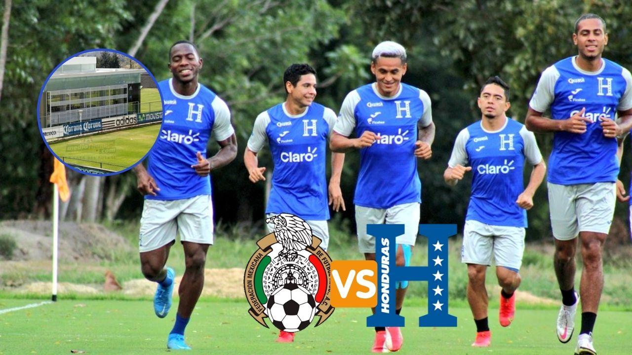 La Selección de Honduras ya conoce el lugar donde preparará el duelo ante México