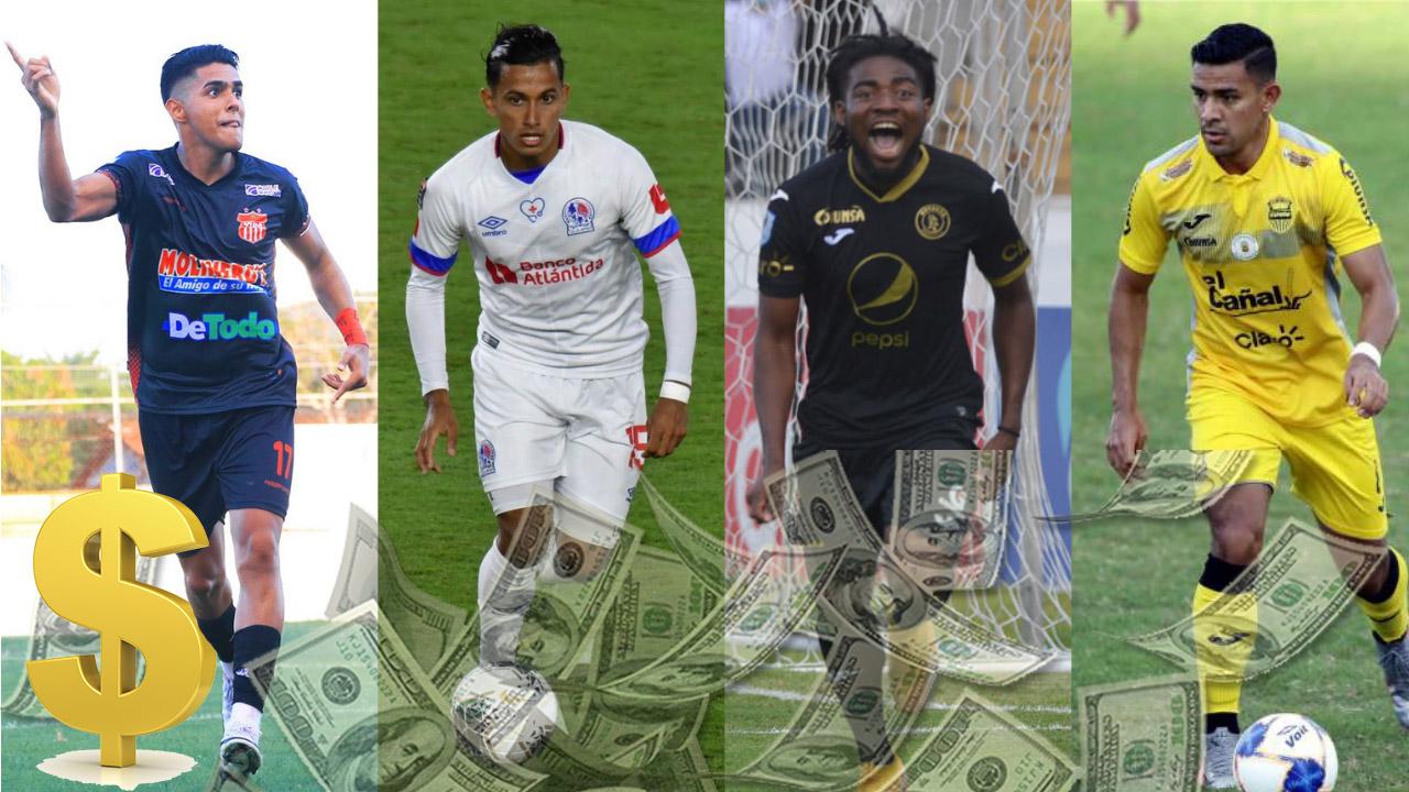 Top 10: Jugadores menores de 23 años más caros de la Liga Nacional