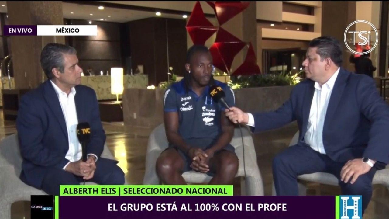 Alberth Elis asegura que apoyan al 100 a Fabián Coito y que ante Jamaica será una final