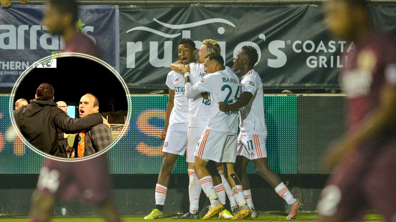 Douglas Martínez se reencuentra con el gol y Landon Donovan enloquece