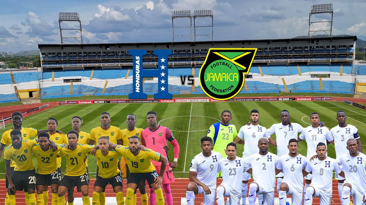 Así está la serie entre Honduras y Jamaica previo al duelo en el Olímpico