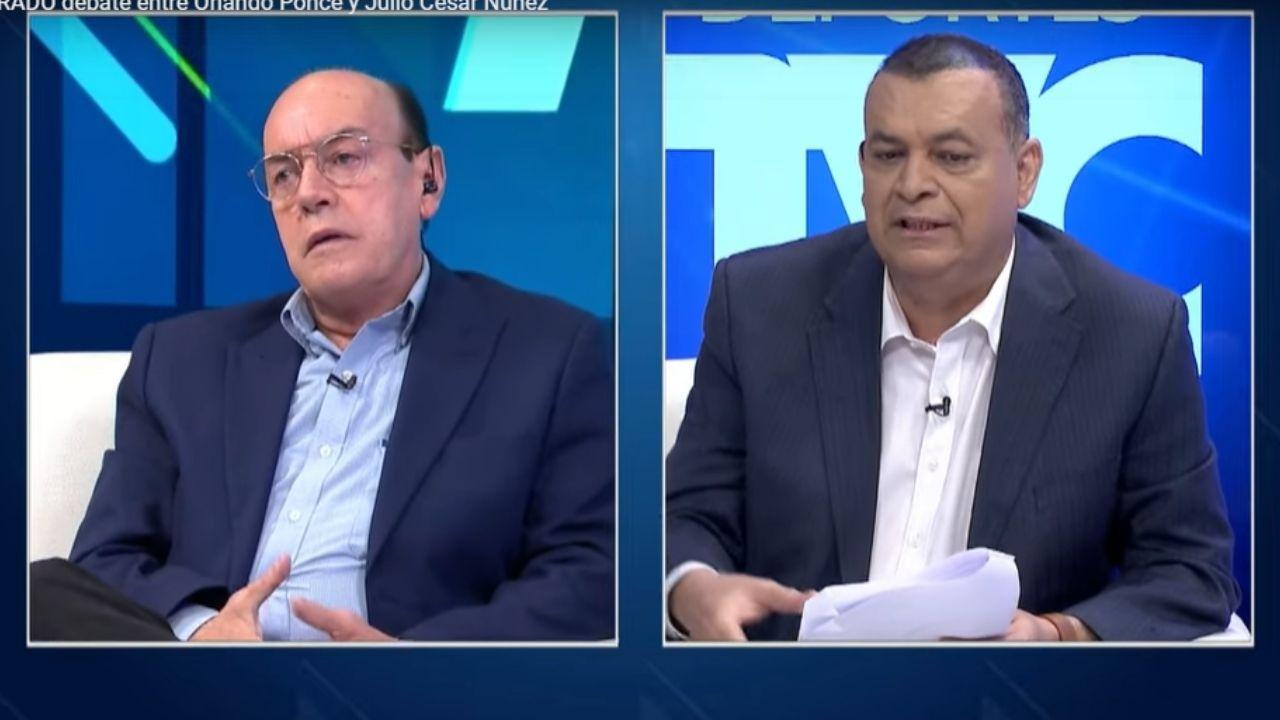 Acalorado debate entre Ponce Morazán y Julio Núñez sobre el futuro de la Selección de Honduras
