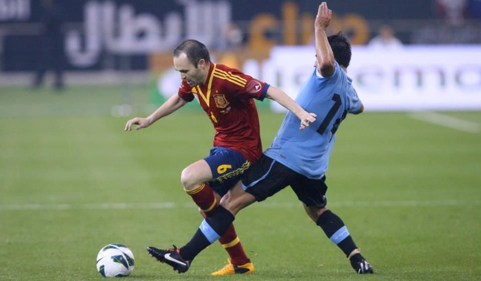 Andres Iniesta avec l