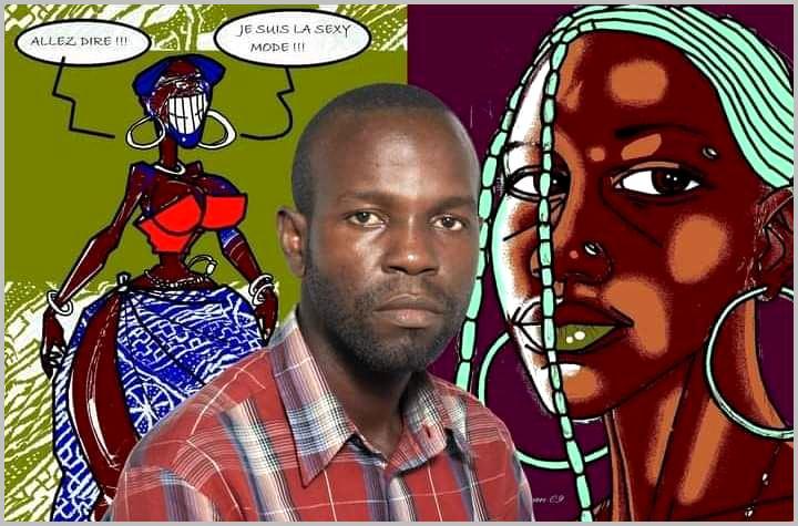 Lndryman, artiste-plasticien camerounais qui a provoqué le buzz sur la toile. Source: Facebook /CC