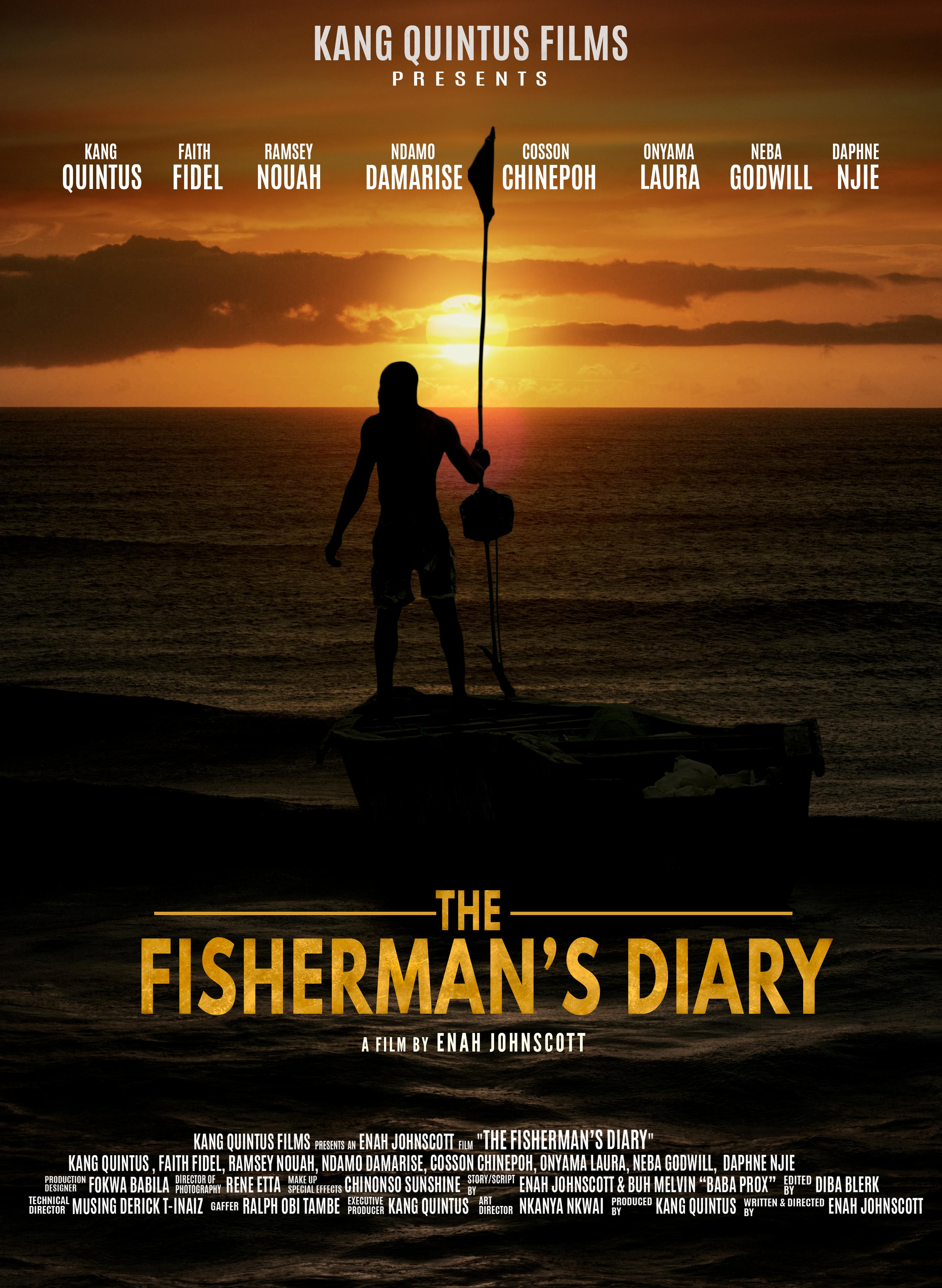 Official Poster, The Fisherman