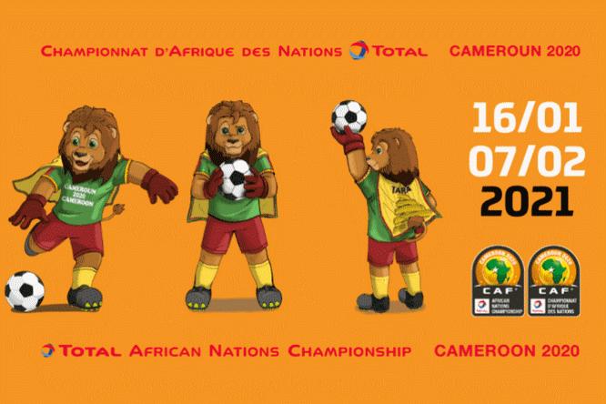 Tara, la mascotte du CHAN Total 2020 est déjà prête pour la compétition. Source: afrik-foot.com /CC