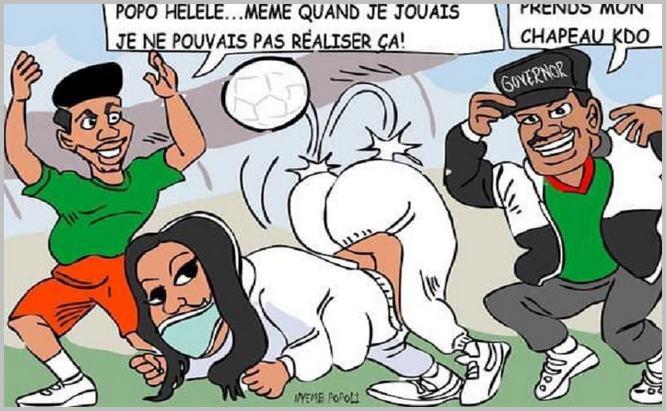 Le dessin de Popoli est jugé sexiste à l
