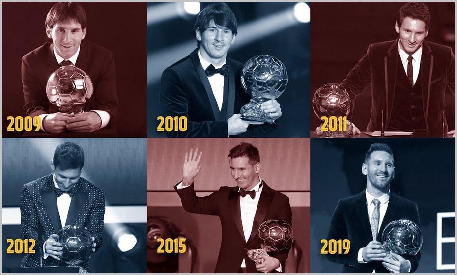 Lionel Messi est déjà le détenteur de six Ballons d