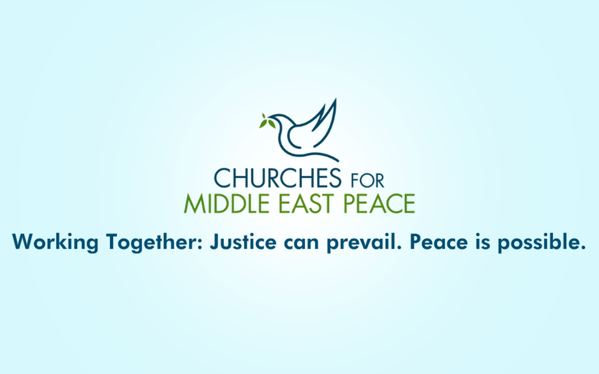 CRC Acting Director Signs Churches for Middle East Peace Letter to Congress
