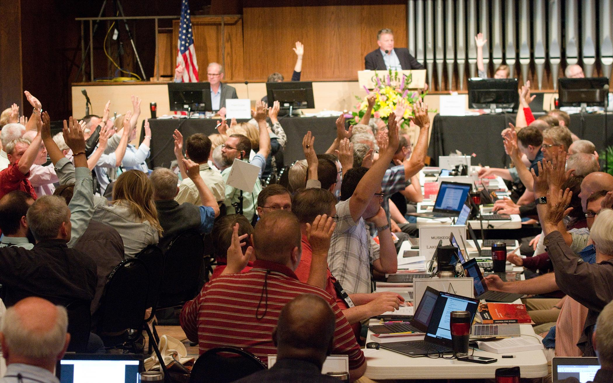 Task Force Recommends Refinements for Annual Synods
