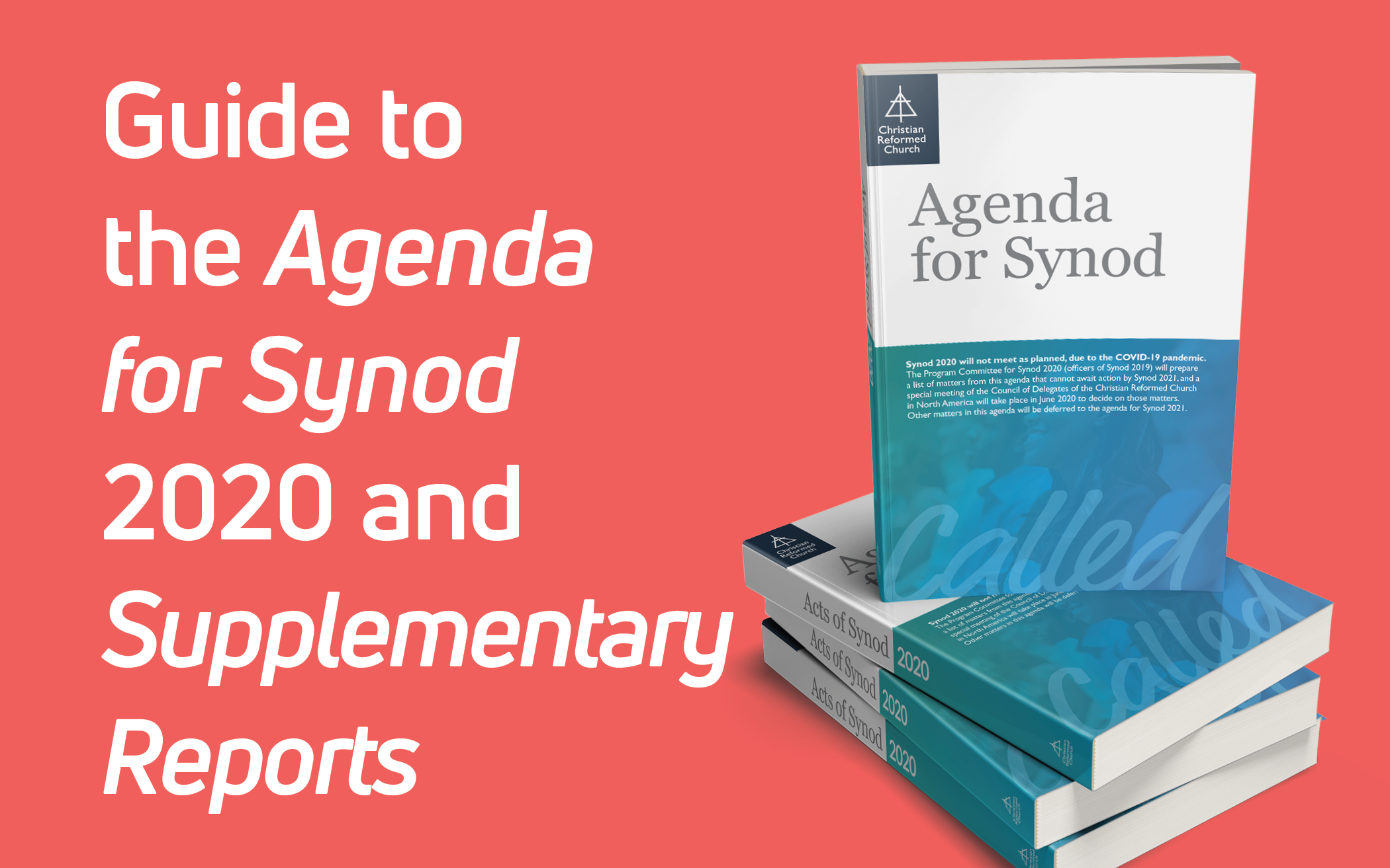 Guide to the Agenda for Synod 2020
