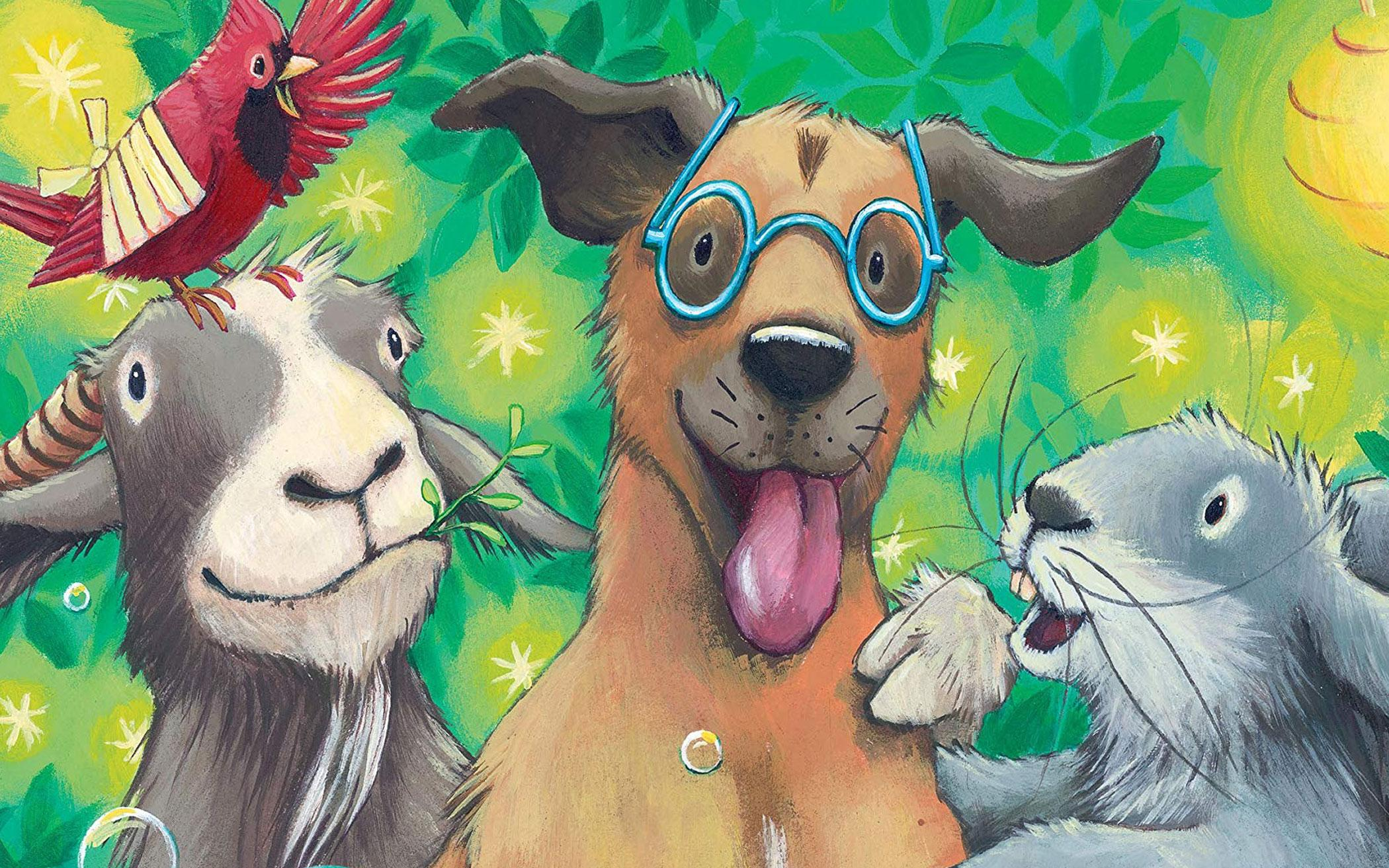From Chewable Books to Books on Which to Chew: Tomes for Younger Readers