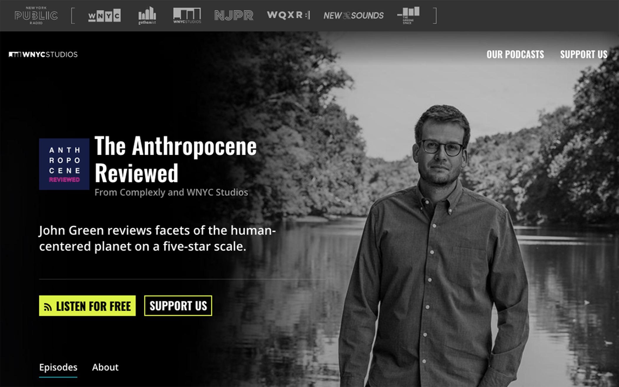 The Anthropocene Reviewed Podcast