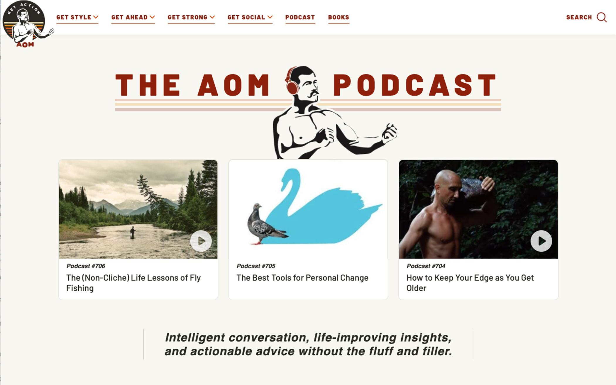 The Art Of Manliness Podcast The Banner
