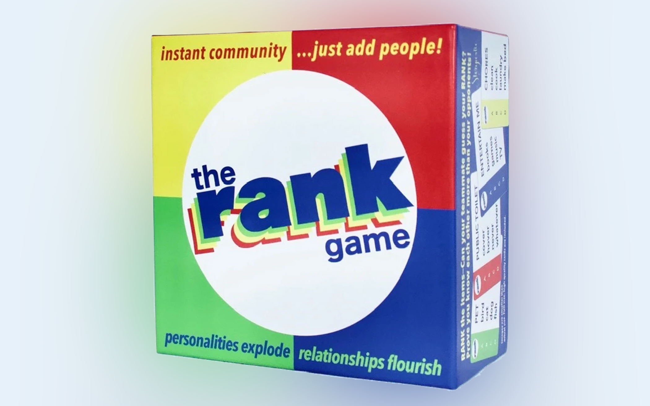 Tech Less and Talk More: A Review of The Rank Game