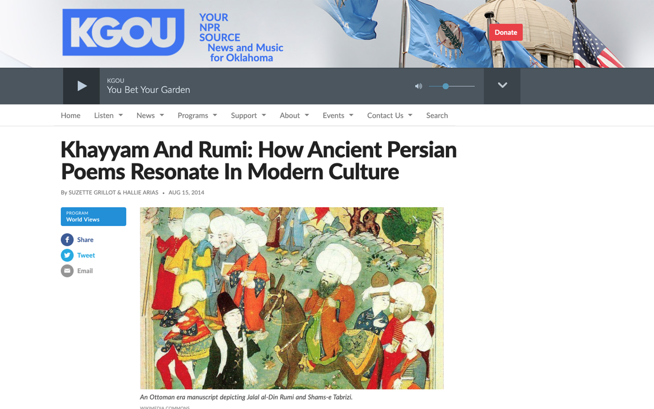 The Surprising Presence of Jesus in Persian Poetry