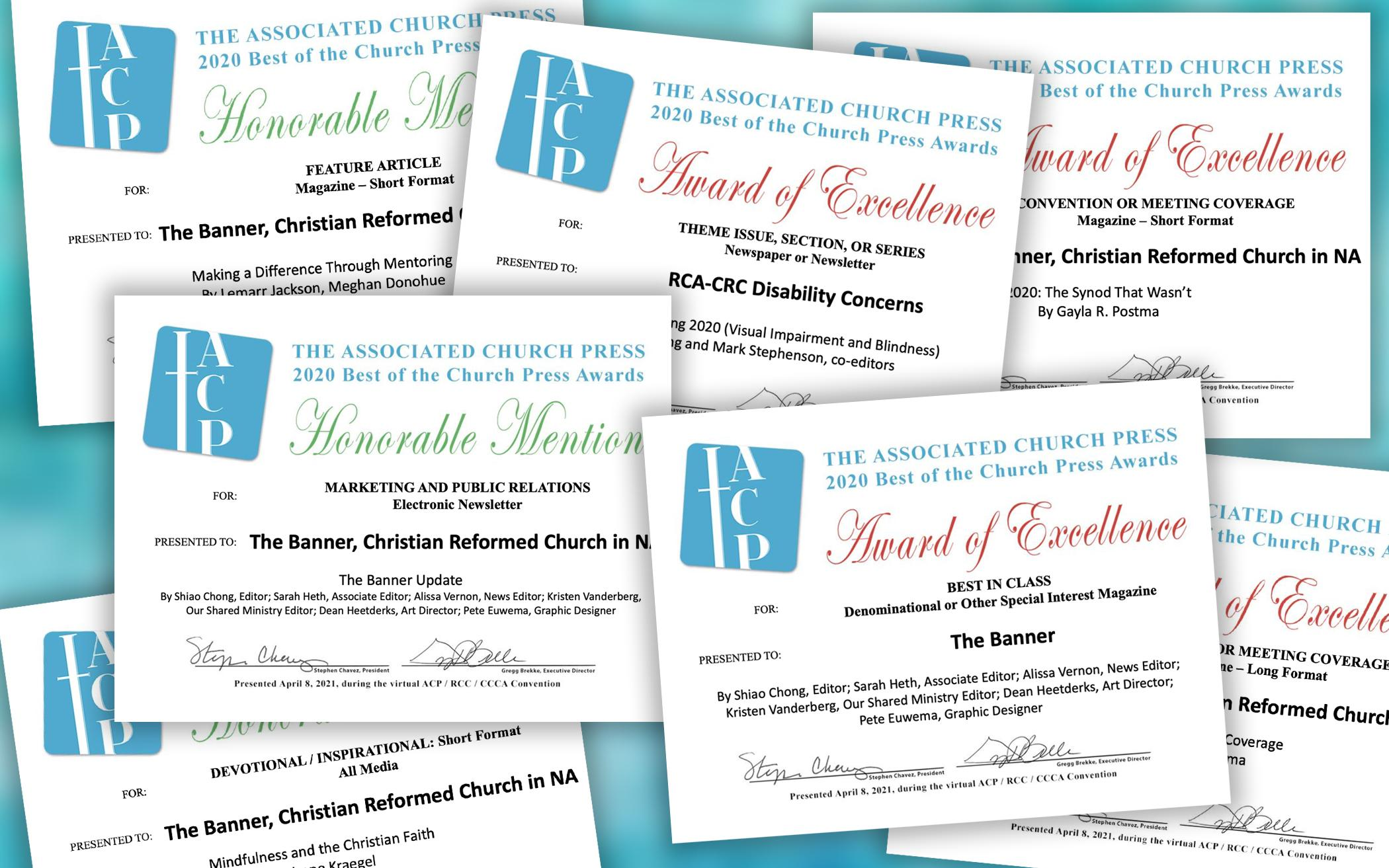 9 Church Press Awards for The Banner, Disability Concerns